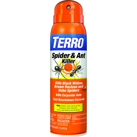 Terro Spider Killer 3 Aerosol Spray, 1 lb