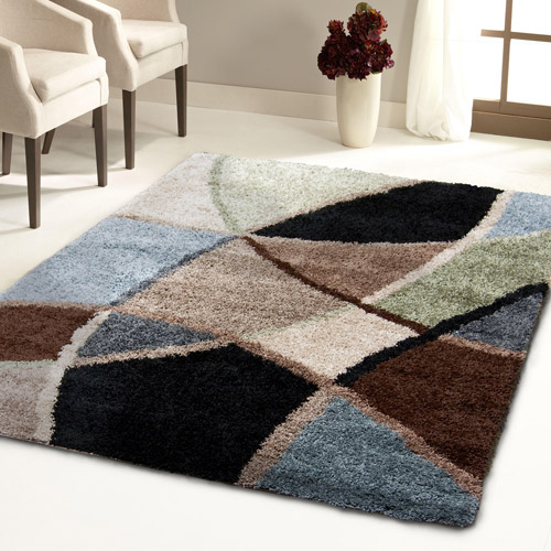 Shag Area Rugs For Living Room orian rugs shag divulge area rug or runner - walmart