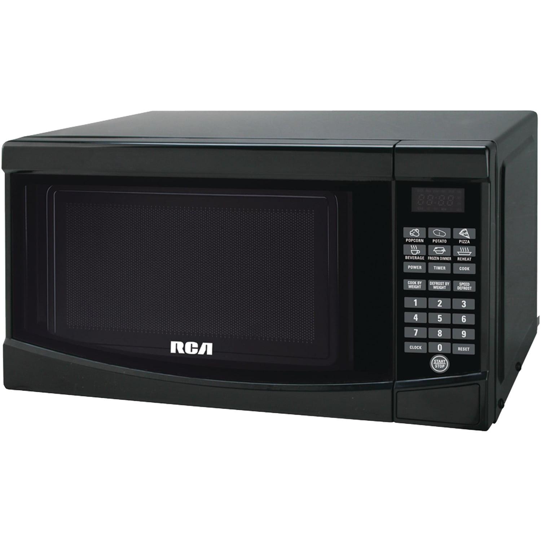 RCA 0.7 Cu. Ft. Microwave Oven, Black