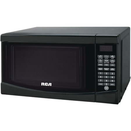 RCA 0.7 Cu. Ft. Microwave Oven, Black (Rca 0-7 Cu Ft Microwave Stainless Steel)