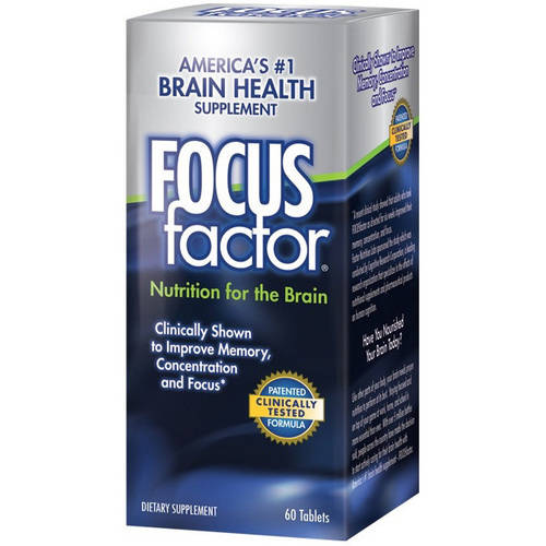FocusFactor Dietary Supplement Tablets, 60 count