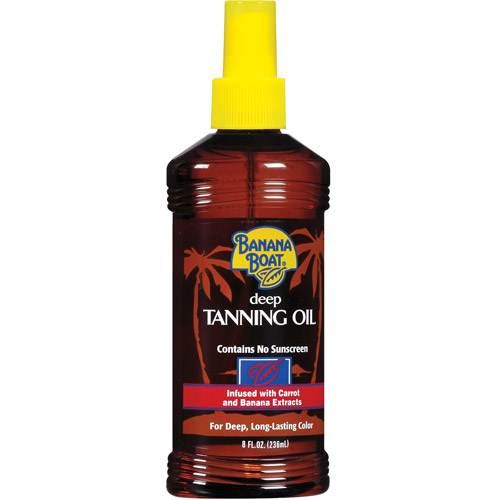 Banana Boat Deep Tanning Oil Pump Spray - 8 Ounces