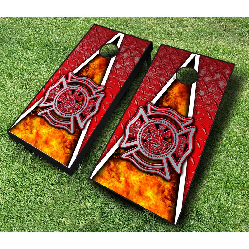 Fireman Tournament Cornhole Set
