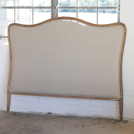3R Studios Oak Linen King Size Headboard