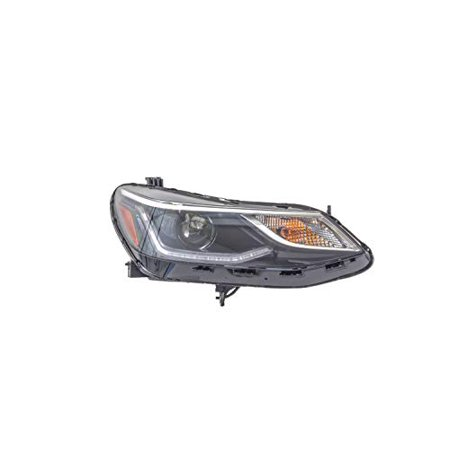 Headlight - Pacific Best Inc. For/Fit 17-19 Chevrolet Cruze-Hatchback Head Lamp Assembly Right Hand Passenger;