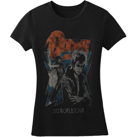 David Bowie  1972 World Tour Girls Jr Black