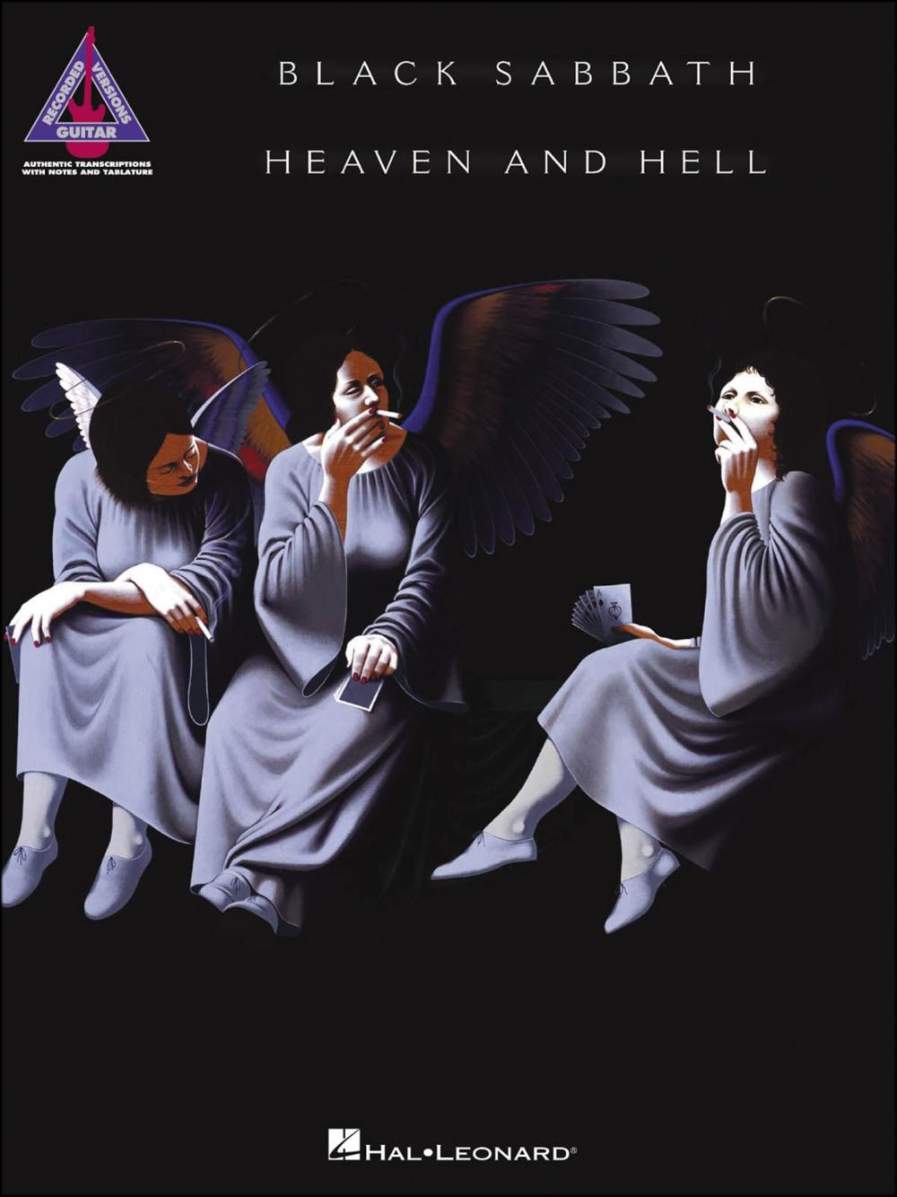 Hal Leonard Black Sabbath Heaven And Hell Tab Book by