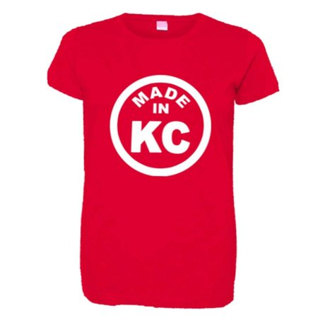 Party City In Columbia Mo (PleaseMeTees™ Womens Born Made In Kansas City KS MO Logo Label HQ)