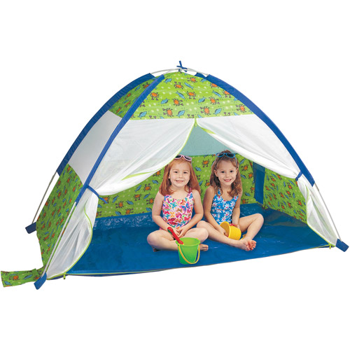 Pacific Play Tents Under the Sea Cabana with Zippered Mesh Front