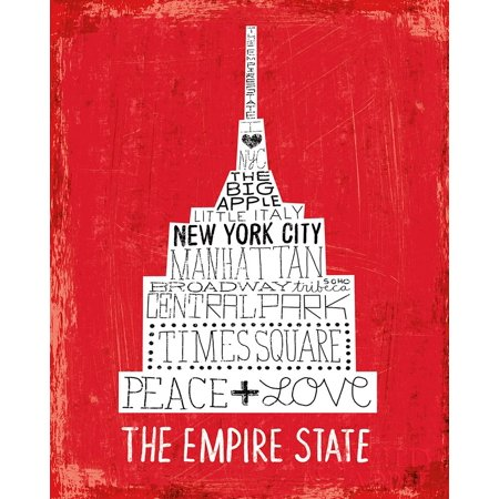 Iconic Nyc Iv Poster Print by Michael Mullan (Michaels Craft Store Nyc)