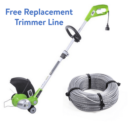 Greenworks 15-Inch 5.5 Amp Corded String Trimmer + FREE 240-Foot Replacement Trimmer Line ($10.99