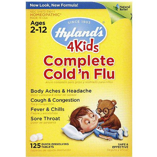 Hyland Complete Cold N Flu 4kids, 125 Tb (pack