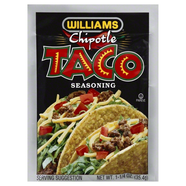 Williams Chipotle Taco Seasoning 1.25 oz. Packet