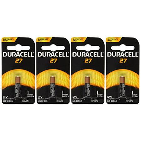 Duracell MN27BPK Watch / Electronic / Keyless Entry Battery, 12 Volt Alkaline X 4 - Duracell Electronic