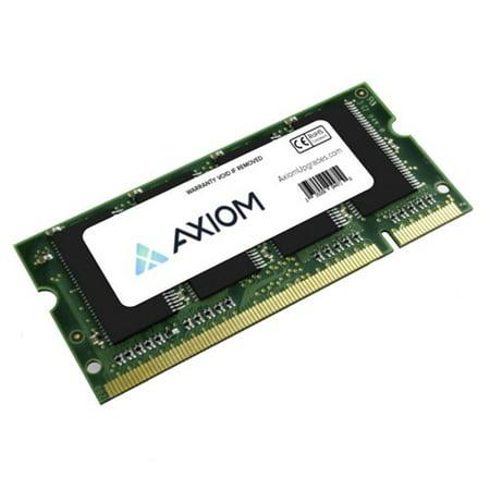 Axion DC890A-AX 1GB DDR SDRAM Memory Module - 1GB (1 x 1GB) - 266MHz DDR266/PC2100 - DDR SDRAM - 200-pin