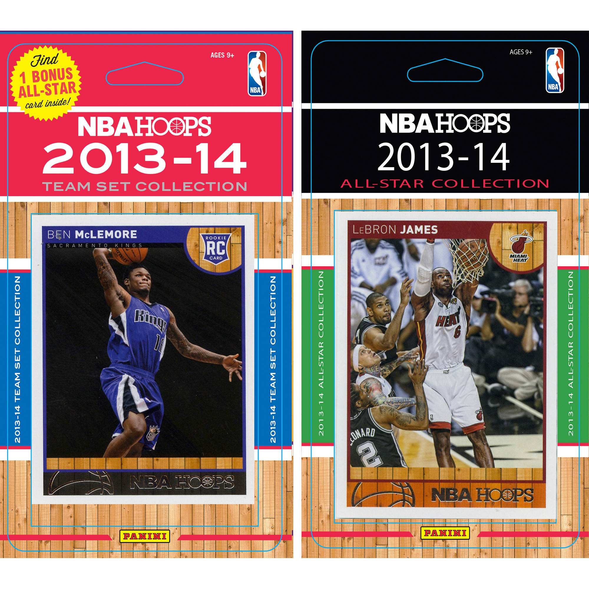 C&I Collectables NBA Sacramento Kings Licensed 2013-14 Hoops Team Set Plus 2013-24 Hoops All-Star Set