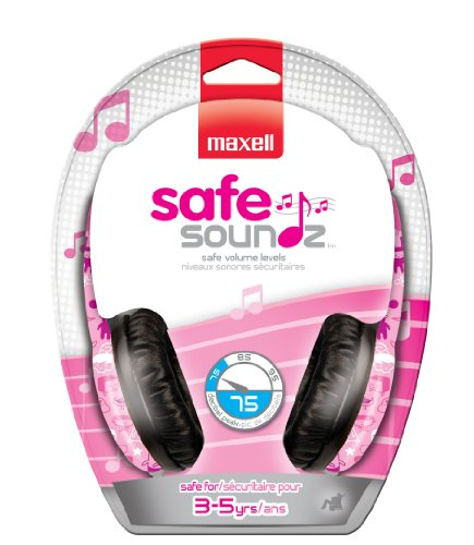 Maxell Safe Soundz Headphone 190294 by Maxell