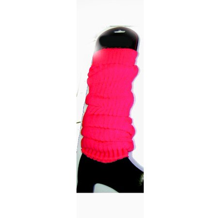 Neon Pink Leg Warmers (Pair) Rave Club 80's 1980's Dancer Lauper Madonna for $<!---->