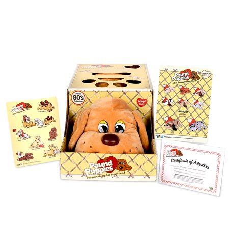 Pound Puppies Classic Plush - Wave 1 - Brown