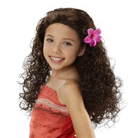 Moana Disney Long Hair Costume Wig
