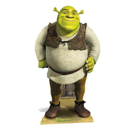 Shrek Cardboard Cutout - 67 x 39 x 1 in.