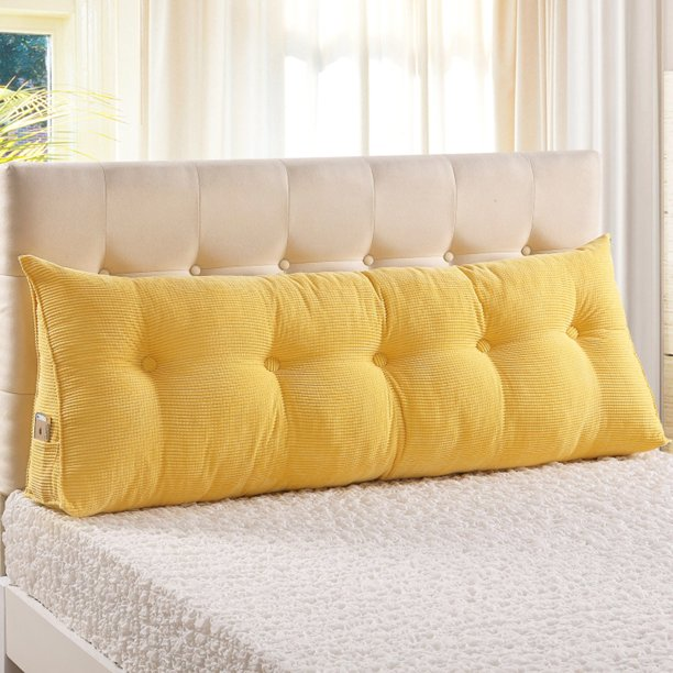 Wedge Pillow Headboard