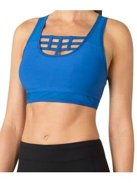 3e3b8bce6b3b0 Product Image MPG NEW Blue Womens Size XS Full-Zip Cutout Sports Bra  Athletic Apparel