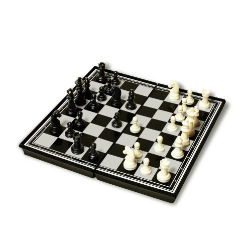 Travel Magnetic Chess Set - Plastic