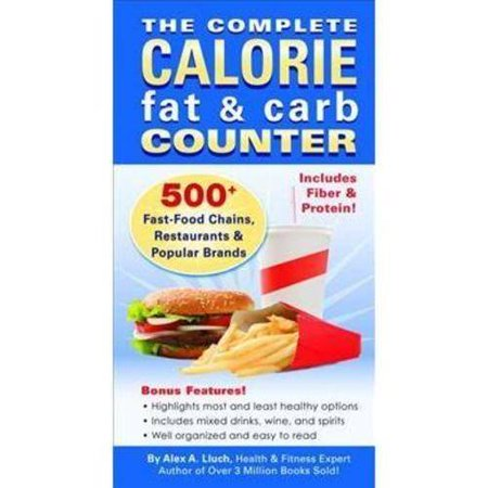 Carb And Fat Counter 110