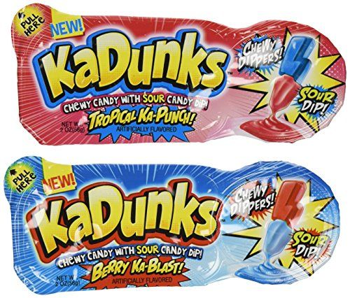 KaDunks, Chewy Dippers, 2 Oz