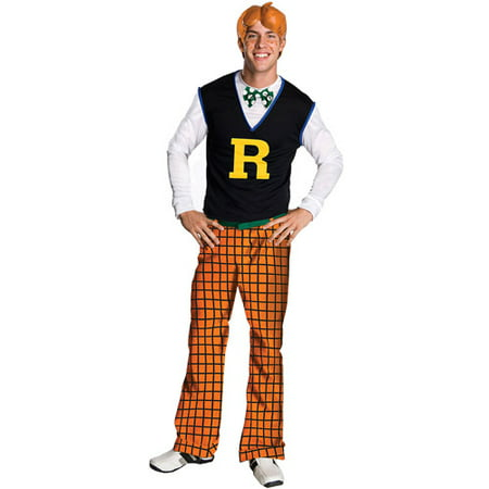 Archie Comics Archie Adult Halloween Costume - One - Halloween Themed Comics