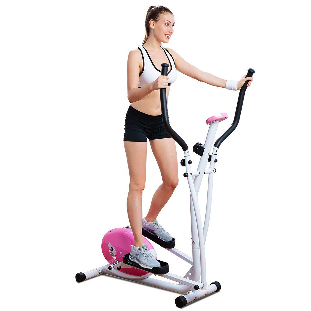 Sunny Health & Fitness G8300 Magnetic Elliptical Trainer Elliptical Machine w  LCD Monitor by Sunny Health & Fitness