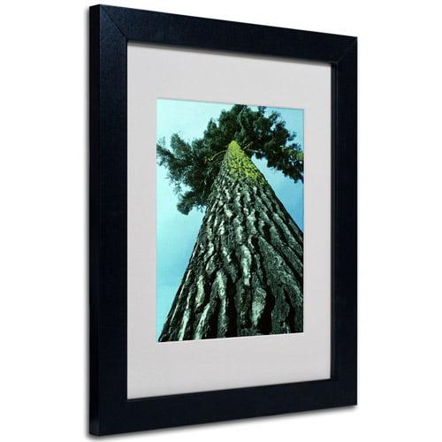 Trademark Art 'A Tree of Life' Framed Matted Art by Kurt Shaffer