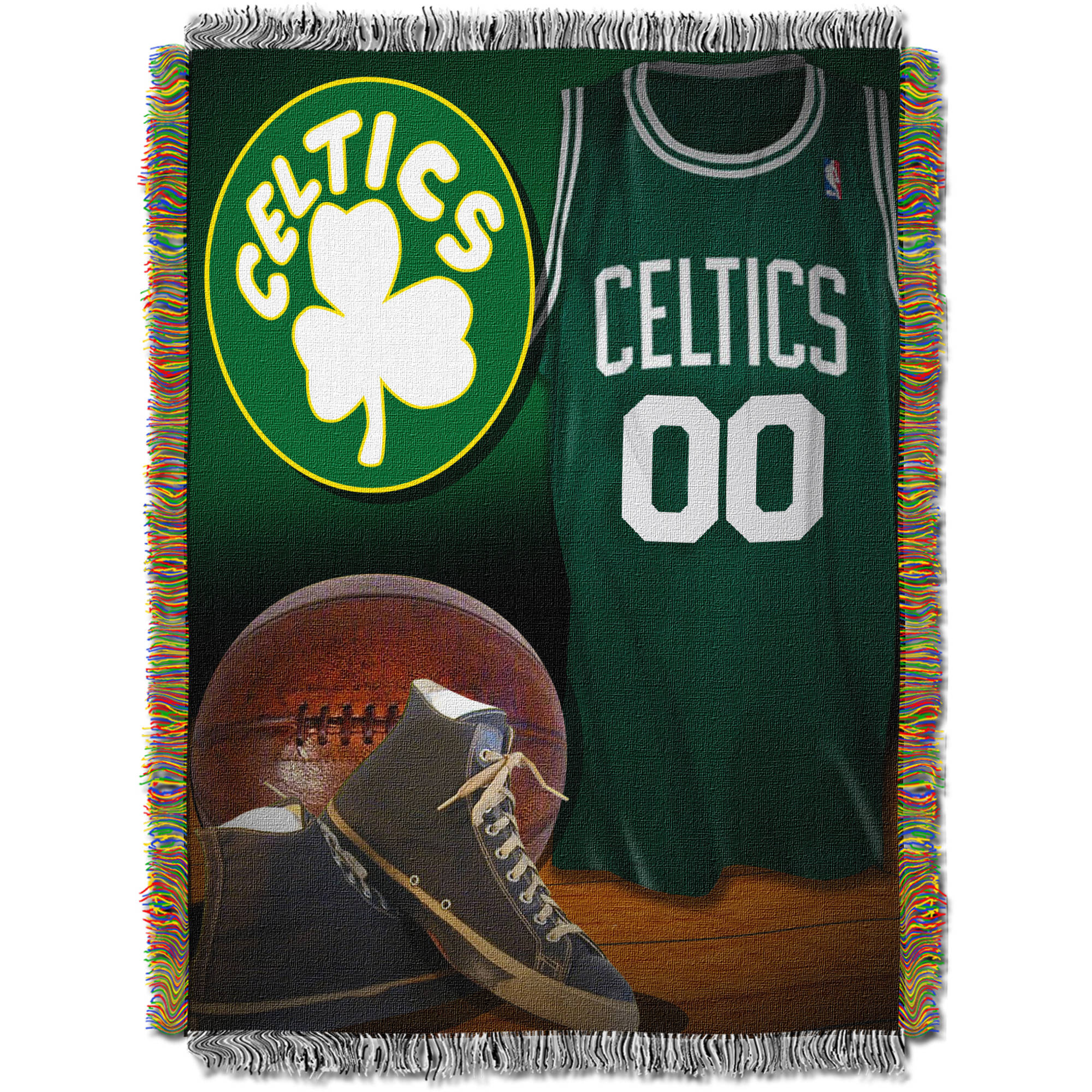 "NBA 48"" x 60"" Vintage Series Tapestry Throw, Celtics"