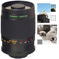 Samyang 500mm f/8 Ultra Telephoto Manual Focus Mirror Lens with T-Mount for Pentax K & Ricoh Mounts