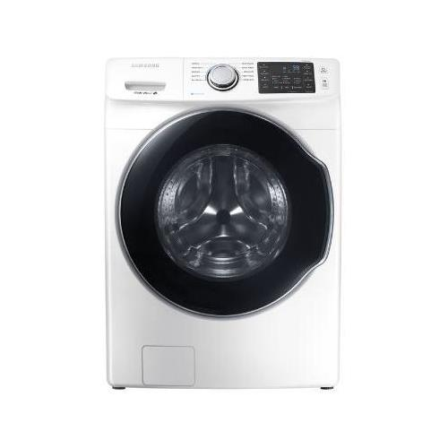 WF45M5500AW 27 Front-Load Washer With 4.5 cu. ft. Capacity DOE Steam Wash...