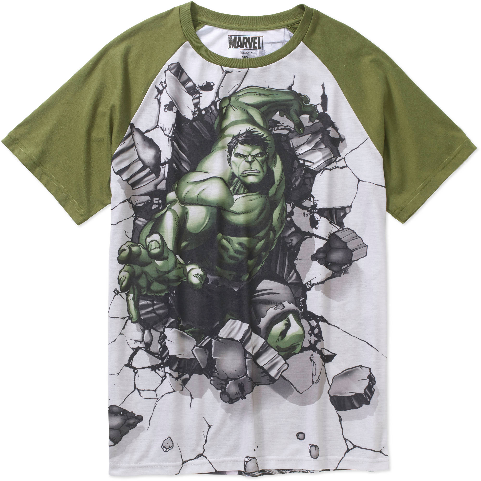 Hulk For Hire Big Men's Graphic Tee,2XL