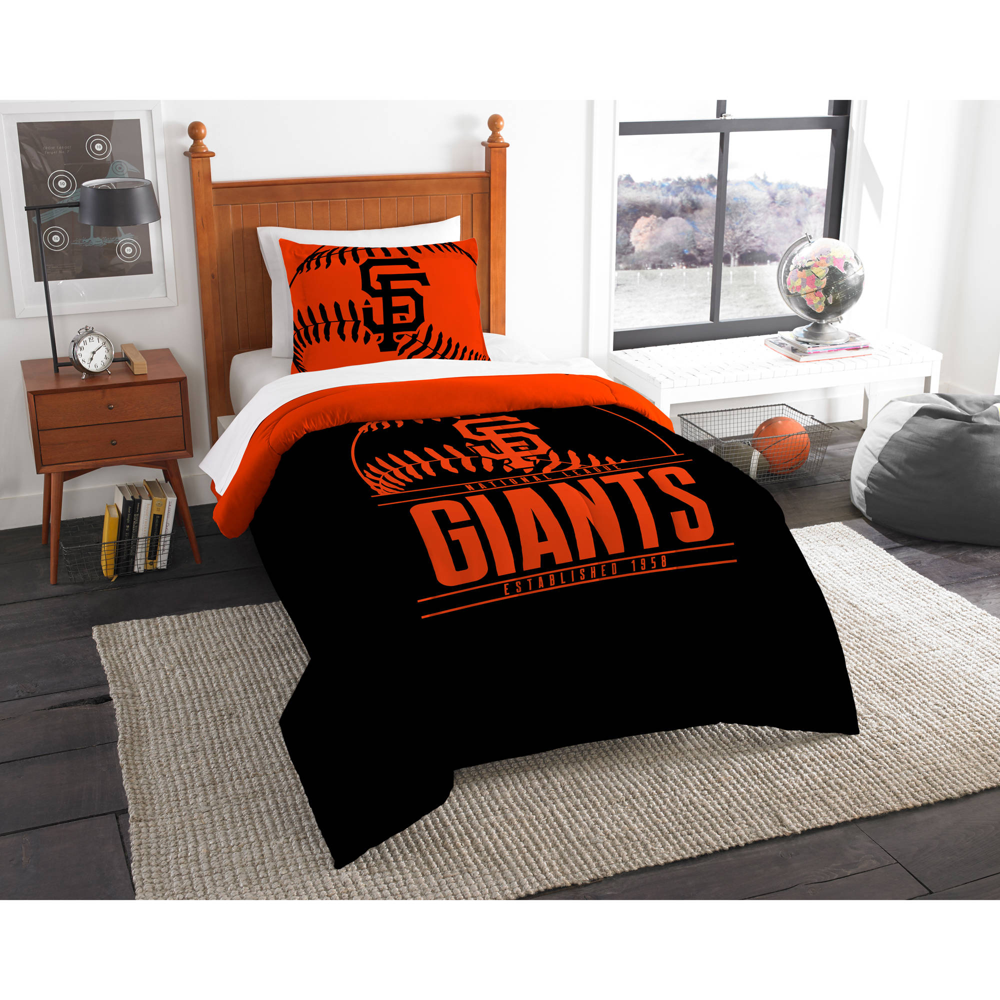 "MLB San Francisco Giants ""Grand Slam"" Bedding Comforter Set"