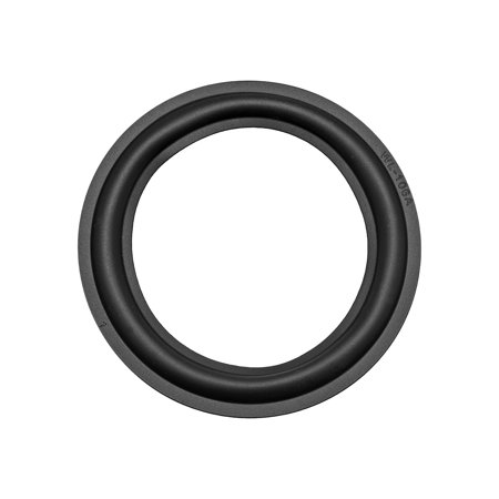 4.5inch Speaker Rubber Edge Surround Rings Replacement Parts for Speaker Repair or DIY ()