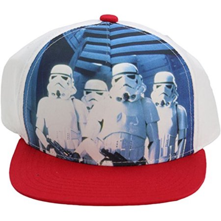 Star Wars Concept One Stormtroopers Youth Snapback Adjustable Cap Hat (Stormtrooper Hat)