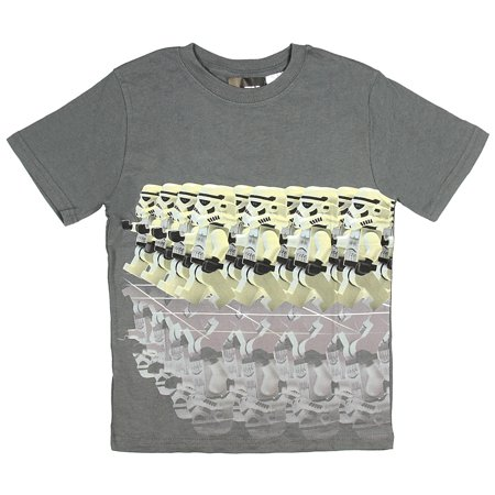Lego Star Wars Boys' Stormtroopers Marching With Reflection T-Shirt - Buy Stormtrooper