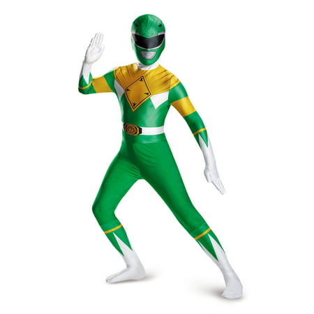 Green Power Ranger Suit (GREEN RANGER BODYSUIT COSTUME)