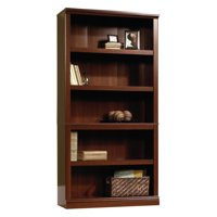 Product Image Sauder Select 5 Shelf Bookcase Cherry Finish
