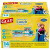 Deals on Glad Lunch Variety Pack Disney Frozen Food Storage Containers, 14 pc