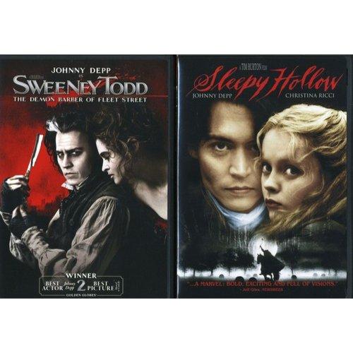 Sleepy Hollow / Sweeney Todd 2-Pack