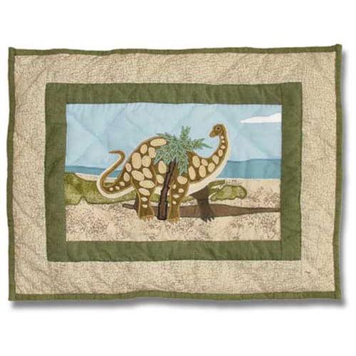 Patch Magic Dinosaur Cotton Boudoir/Breakfast Pillow