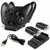 Xbox One Dual Charging Dock Station Controller Charger Plus 2 Extra Battery Packs