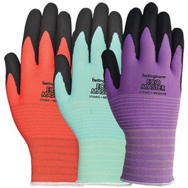 LFS C3704ACM Assorted Colors Medium Bellingham Eco Master Glove, Pack of 12 - image 1 de 1