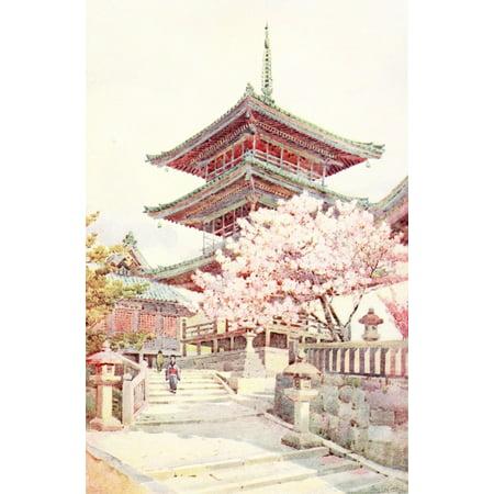 Flowers & Gardens of Japan 1908 Poster Print by  Ella Du