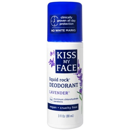 Kiss My Face Liquid Rock Deodorant Lavender